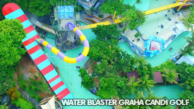 Water Blaster Graha Candi Golf