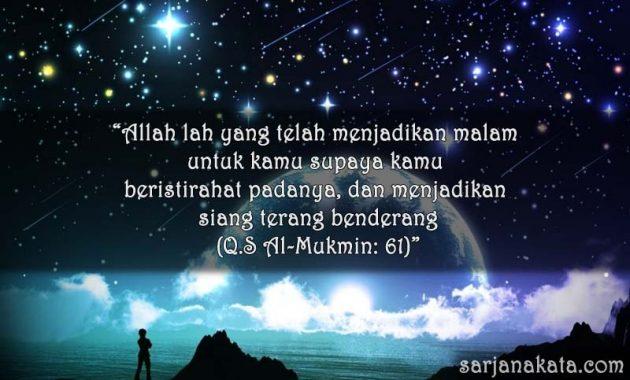 Ucapan Selamat Malam Islami
