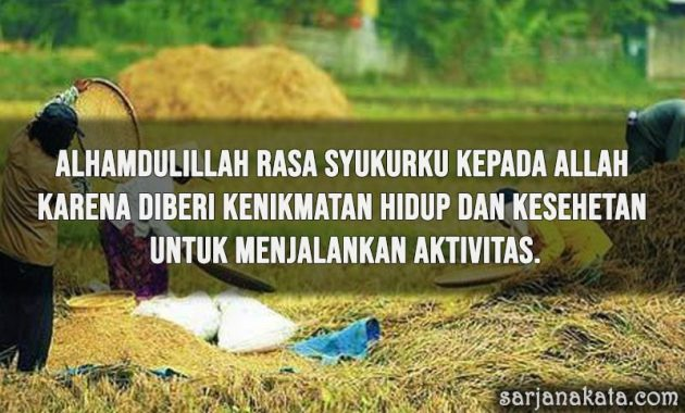 Kata Kata Alhamdulillah