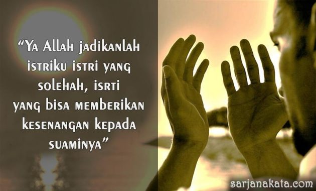 Kata Kata Doa Untuk Istri Tercinta