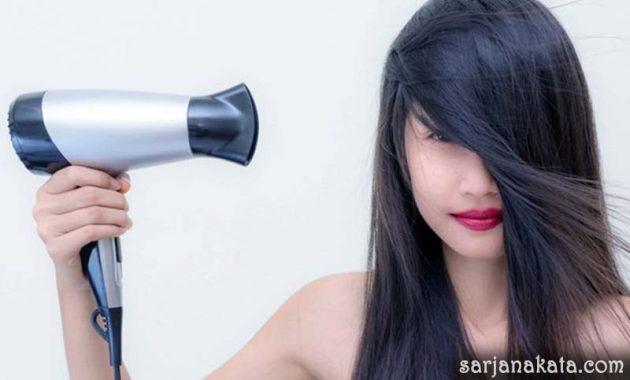 Hindari Penggunaan Hairdryer