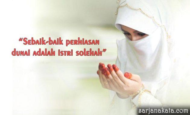 Kata Mutiara Untuk Istri Solehah
