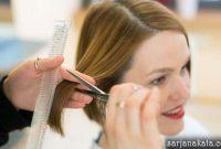 Memotong Rambut Pendek
