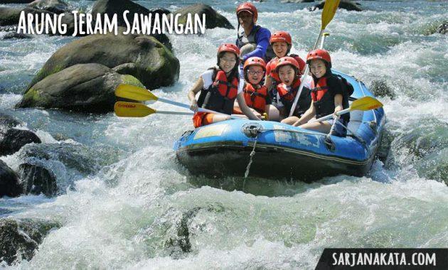 Arung Jeram Sawangan