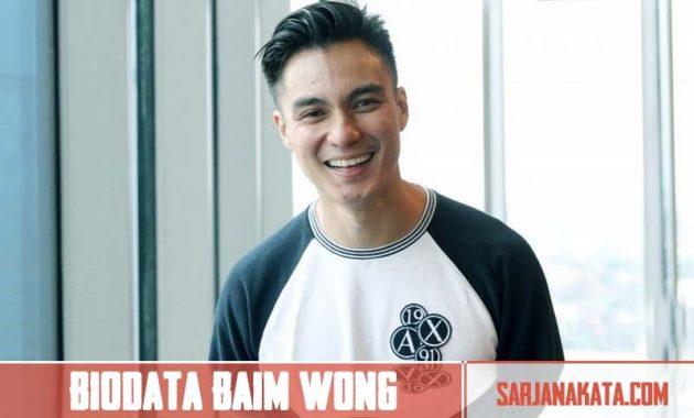 Biodata Baim Wong