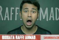 Profil & Biodata Lengkap Raffi Ahmad