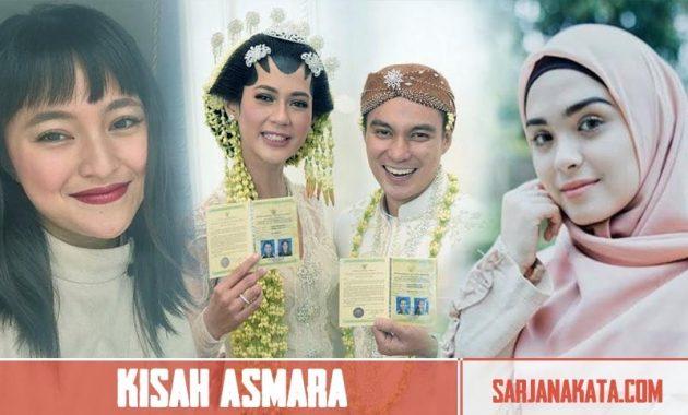 Kisah Asmara Baim Wong