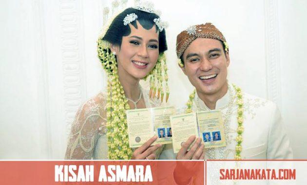 Kisah Asmara Bersama Baim Wong
