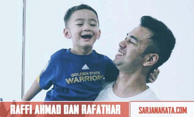 Raffi Ahmad dan Rafathar