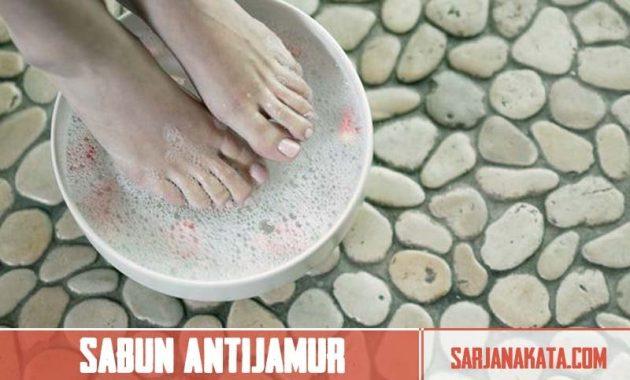 Sabun Antijamur atau Antibakteri
