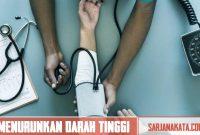 Cara Menurunkan Tekanan Darah Tinggi