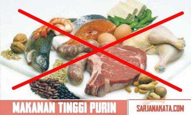 Mengurangi Makanan yang Tinggi Purin