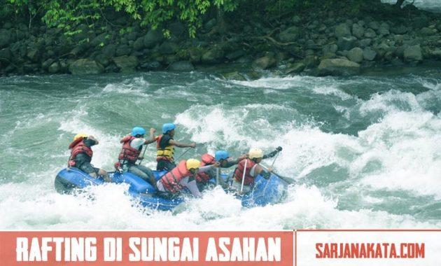 Rafting di Sungai Asahan