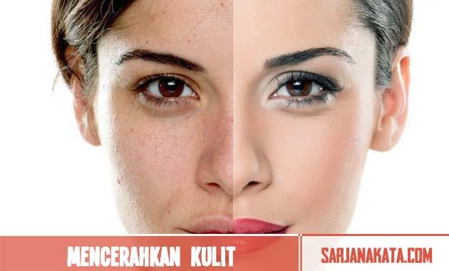 Mencerahkan kulit