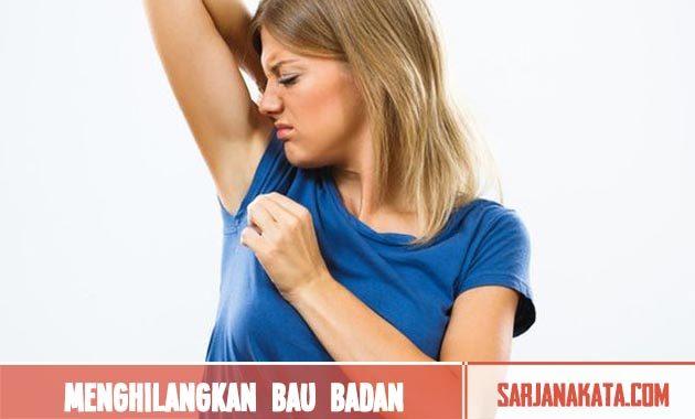 Menghilangkan bau badan