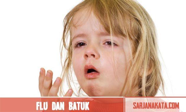 Menyembuhkan flu dan batuk