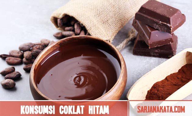 Konsumsi coklat hitam