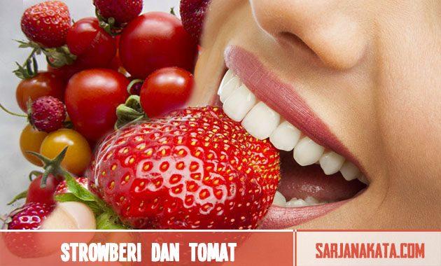 Strowberi dan tomat