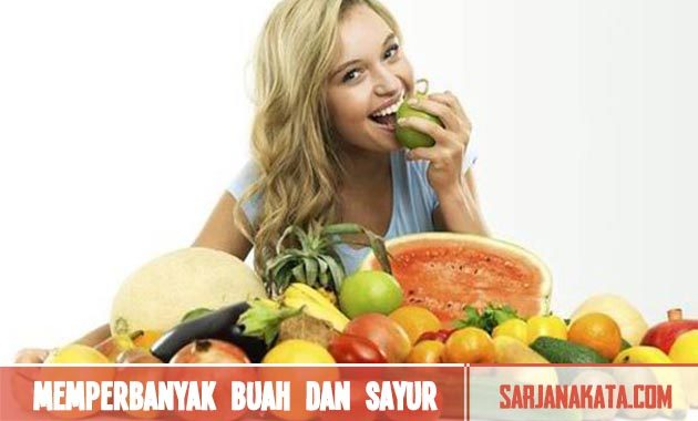 Memperbanyak Buah dan Sayur