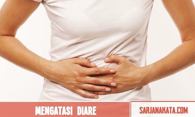 Mengatasi diare