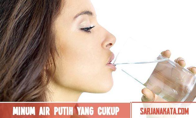 Minum Air Putih yang Cukup