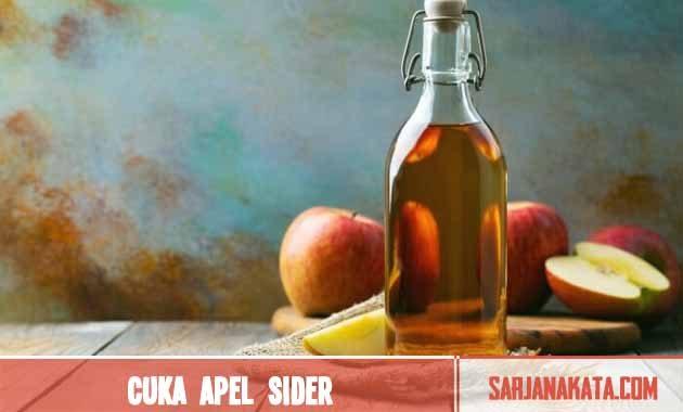 Cuka Apel Sider
