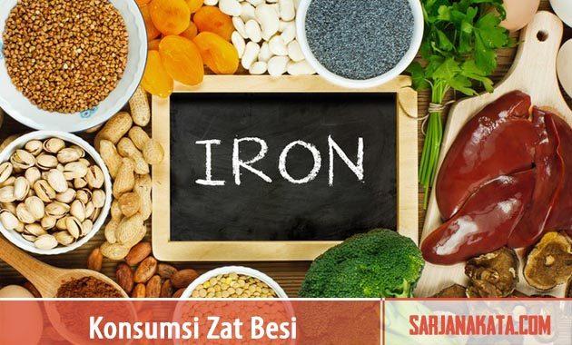 Konsumsi Makanan Yang Tinggi Akan Zat Besi