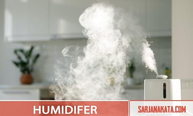 Menggunakan Humidifier