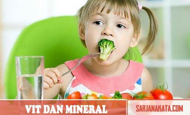 Pastikan Mendapatkan Cukup Vitamin Dan Mineral