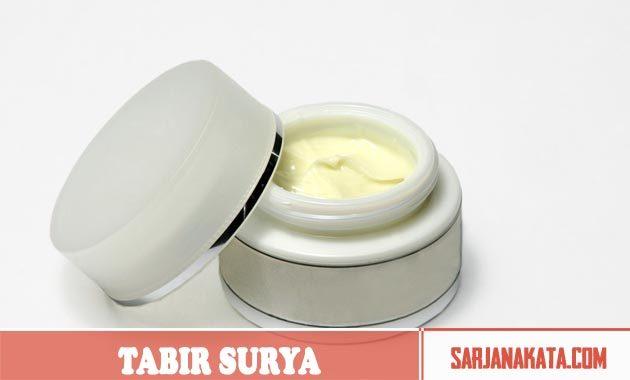 Tabir Surya Bebas Minyak