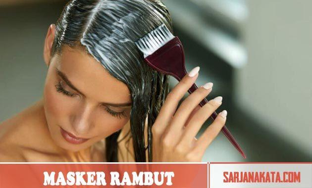 Gunakan Masker Rambut