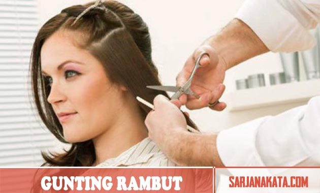 Rajin Menggunting Rambut