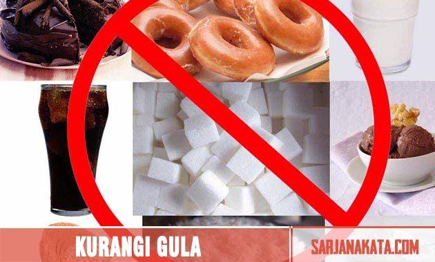 Kurangi Konsumsi Gula