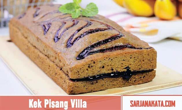 Kek Pisang Villa
